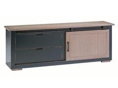 Mobile TV basso in rovere con cassettiMAXIME | Mobile TV - ROCHE BOBOIS