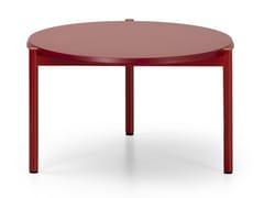 Tavolino basso rotondo in MDFBLADE COFFEE | Tavolino rotondo - TRUE DESIGN