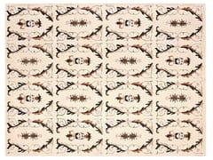 Tappeto a motivi fatto a mano rettangolare in lanaMEDIEVAL FACES - GAN BY GANDIA BLASCO