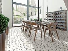 Pavimento/rivestimento in gres porcellanato smaltato effetto cementineMEDLEY - GAMMA DUE
