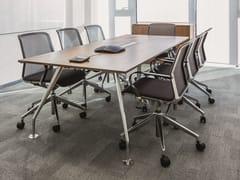 Tavolo da riunione rettangolare con sistema passacaviSLOPE | Tavolo da riunione - BENE