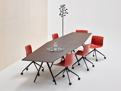 Tavolo da riunione trapezoidale MEETY | Tavolo da riunione - Meety