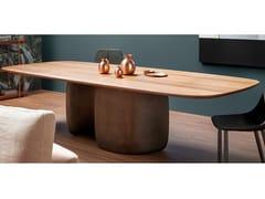 Tavolo da pranzo rettangolareMELLOW | Tavolo rettangolare - BONALDO