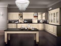 Cucina componibile in legno impiallacciato MELOGRANO CLASSIC CK1 -