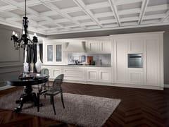 Cucina componibile in legno impiallacciato MELOGRANO CLASSIC CK4 -