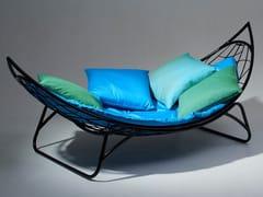 Chaise longue in acciaio verniciato a polvereMELON | Amaca autoportante - STUDIO STIRLING