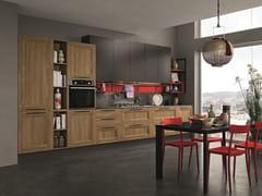 Cucina lineare con maniglieMEMORY 02 - FEBAL CASA