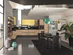 Cucina lineare con maniglieMEMORY 04 - FEBAL CASA