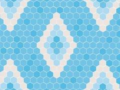Mosaico antibatterico in vetro riciclatoMENORCA - HISPANO ITALIANA DE REVESTIMIENTOS