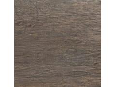 Pavimento in gres porcellanato tecnico effetto legno MENSA GRAPHITE - MENSA