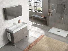 Mobile lavabo da terra con specchioMERCURY 04 - BMT