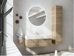 Mobile lavabo sospeso con specchioMERCURY 07 - BMT