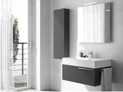 Mobile lavabo sospeso con specchioMERCURY 08 - BMT