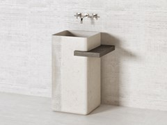 Lavabo freestanding in pietra naturaleMERIDIAN PS45 - THE DAVANI GROUP