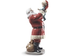 Soprammobile natalizio in porcellanaMERRY CHRISTMAS SANTA! - LLADRÓ