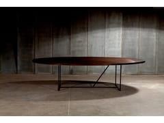 Tavolo ovale in legno di recuperoMESA OV - HEERENHUIS