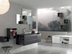 Sistema bagno componibile META - COMPOSIZIONE 3 - Meta