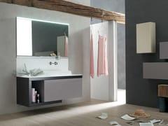 Sistema bagno componibile META - COMPOSIZIONE 6 - Meta