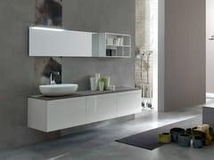 Sistema bagno componibile META - COMPOSIZIONE 7 - Meta