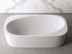 Vasca da bagno centro stanza ovale in materiale compositoMETA TUB - RELAX DESIGN