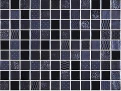 Mosaico in vetro per interni ed esterniMETAL BLACK - ONIX CERÁMICA