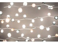 Lampada a sospensione a luce diretta in vetro soffiato IVY | Lampada a sospensione - Ivy