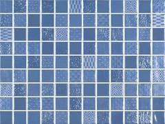 Mosaico in vetro per interni ed esterniMETAL ROYAL BLUE - ONIX CERÁMICA