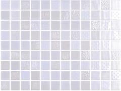 Mosaico in vetro per interni ed esterniMETAL WHITE - ONIX CERÁMICA
