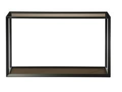 Consolle rettangolare in acciaio e vetroMETALLICA | Consolle - ROCHE BOBOIS