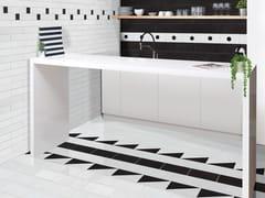 Pavimento/rivestimento fatto a mano in ceramicaMETALLICA - ECO CERAMICA