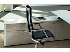 Mobile ufficio in rovereMETAR | Mobile ufficio laccato - BRALCO