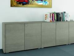 Mobile ufficio in rovere METAR | Mobile ufficio con ante a battente - Metar