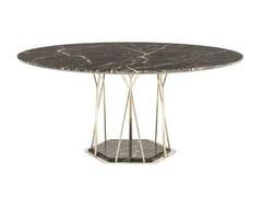 Tavolo da pranzo rotondo in marmoMIAMI - FARGO HONGFENG INDUSTRIAL