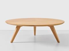 Tavolino rotondo in legno impiallacciatoMICA - HEMONIDES FURNITURE