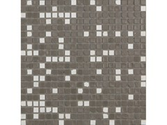 Mosaico in vetro per interni ed esterniMICRO 6 MIX | Fango Talco - NEROSICILIA GROUP