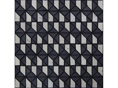Mosaico in vetroMICRO MULTIPLEM | Grafite Riso - NEROSICILIA GROUP