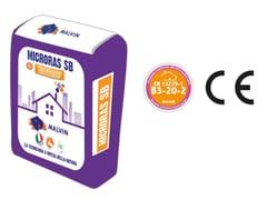 Rasante premiscelato base di calce naturale e gessoMICRORAS SB - MALVIN