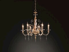Lampadario con cristalli Swarovski® MIDHA L6 - Midha