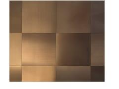 Lastra in alluminio Dvne® per rivestimentiMIDI QUADRA 30.30 - DVNE MILANO