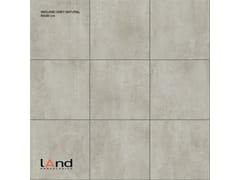 Pavimento/rivestimento in gres porcellanato tecnico effetto cemento MIDLAND GREY - MIDLAND