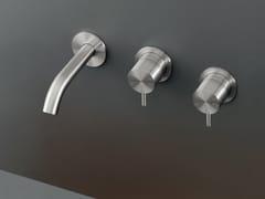 Gruppo 2 rubinetti apri/chiudi a parete MIL 57 - MILO360