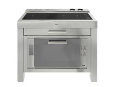 Modulo cucina freestanding in acciaio inox per piano cotturaMILANO 4 VTC 120 INOX - FOSTER