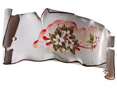 Applique a luce radente in ceramicaMILANO | Applique in ceramica - FERROLUCE