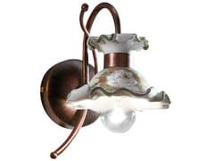 Applique in ceramica con braccio fissoMILANO | Applique - FERROLUCE
