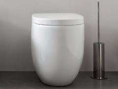 Wc in ceramica a pavimento MILK | Wc a pavimento - Milk