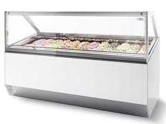 Vetrina refrigerata da bancone per gelatiMILLENIUM ST | Vetrina refrigerata per gelati - ISA