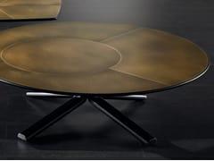 Tavolino basso in ottone MILLER | Tavolino in ottone - Miller