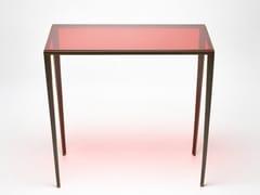 Consolle rettangolare in vetroMINA | Consolle in vetro - REDA AMALOU DESIGN