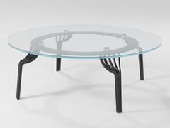 Tavolino da caffè in cristalloMING | Tavolino in cristallo - BAREL