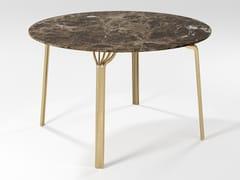 Tavolo da pranzo rotondo in marmoMING | Tavolo da pranzo - BAREL